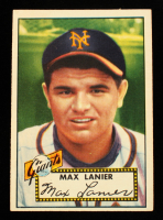 Max Lanier 1952 Topps #101 at PristineAuction.com