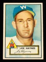 Joe Haynes 1952 Topps #145 at PristineAuction.com