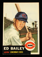 Ed Bailey 1953 Topps #206 RC at PristineAuction.com