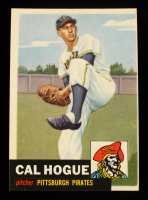 Cal Hogue 1953 Topps #238 RC at PristineAuction.com