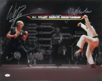 "Ralph Macchio & William Zabka Signed ""The Karate Kid"" 16x20 Photo (JSA COA) at PristineAuction.com"