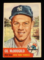Gil McDougald 1953 Topps #43 at PristineAuction.com