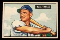 Wally Moses 1951 Bowman #261 at PristineAuction.com