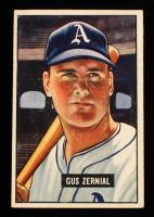 Gus Zernial 1951 Bowman #262 at PristineAuction.com