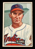 Al Lopez 1951 Bowman #295 RC at PristineAuction.com