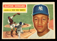 Elston Howard 1956 Topps #208 at PristineAuction.com