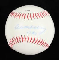 "Art Mahaffey Signed OL Baseball Inscribed ""17 K's"" (JSA COA) at PristineAuction.com"