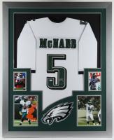 Donovan McNabb Signed 35.5x43.5 Custom Framed Jersey Display (Beckett COA) (See Description) at PristineAuction.com