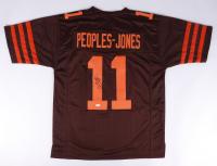 Donovan Peoples-Jones Signed Jersey (JSA COA) (See Description) at PristineAuction.com