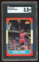 Michael Jordan 1986-87 Fleer #57 RC (SGC 3.5) at PristineAuction.com