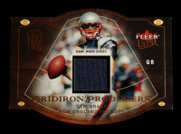 Tom Brady 2004 Ultra Gridiron Producers Game Used Copper #GPTB at PristineAuction.com