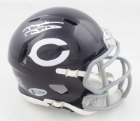 Mike Ditka Signed Bears Speed Mini Helmet (Beckett COA) at PristineAuction.com