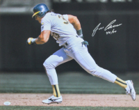 """Jose Canseco Signed Athletics 16x20 Photo Inscribed """"40/40"""" (JSA COA) at PristineAuction.com"""