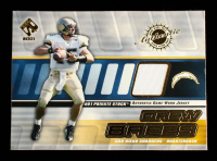 Drew Brees 2001 Private Stock Game Worn Gear #122 at PristineAuction.com