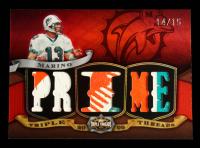 Dan Marino 2009 Topps Triple Threads Relic Prime #TTR85 #14/15 at PristineAuction.com