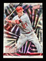 Mike Trout 2016 Panini Black Friday Wedges #12 #11/50 at PristineAuction.com