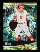 Mike Trout 2018 Panini Cyber Monday Cracked Ice #15 #6/25 at PristineAuction.com