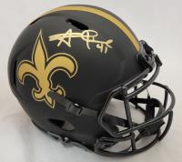 Alvin Kamara Signed Saints Full-Size Authentic On-Field Eclipse Alternate Speed Helmet (Beckett Hologram) at PristineAuction.com