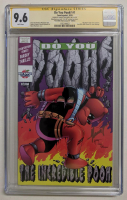 """Marat Mychaels Signed LE 2019 """"Do You Pooh?"""" - Incredible Hulk Annual #1 Cover Homage Issue #1 Comic Book (CGC 9.6) at PristineAuction.com"""
