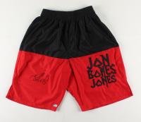 "Jon ""Bones"" Jones Signed Boxing Shorts (Beckett COA) at PristineAuction.com"