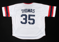 """Frank Thomas Signed Jersey Inscribed """"HOF 2014"""" (Beckett COA) at PristineAuction.com"""