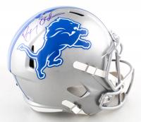 Barry Sanders Signed Lions Full-Size Speed Helmet (Beckett COA & Schwartz Sports Hologram) at PristineAuction.com