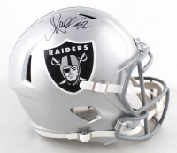 Marcus Allen Signed Raiders Full-Size Speed Helmet (Beckett COA & Allen Hologram) at PristineAuction.com