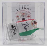 Julio Cesar Chavez Bello Boxing Glove with Display Case (PSA COA) (See Description) at PristineAuction.com