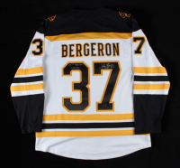 """Patrice Bergeron Signed Bruins Jersey Inscribed """"20th Bruins Captain"""" (Bergeron COA) at PristineAuction.com"""
