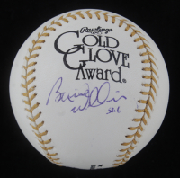 Bernie Williams Signed Gold Glove Award Baseball (JSA COA) at PristineAuction.com