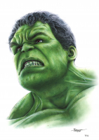 Thang Nguyen - Hulk - The Avengers - Marvel Comics - 8x12 Signed Limited Edition Giclee on Fine Art Paper #/50 at PristineAuction.com