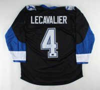 Vincent Lecavalier Signed Jersey (Lecavalier COA) at PristineAuction.com