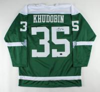 Anton Khudobin Signed Jersey (Khudobin COA) at PristineAuction.com