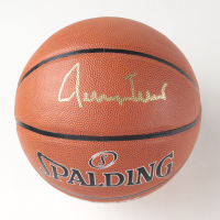 Jerry West Signed NBA Basketball (PSA COA) at PristineAuction.com