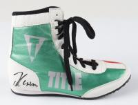 Julio Cesar Chavez Signed Title Boxing Shoe (PSA Hologram) (See Description) at PristineAuction.com