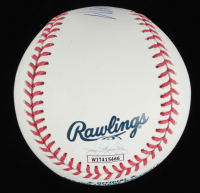 "Wade Boggs Signed OML Baseball Inscribed ""HOF 05"" & ""3010 Hits"" (JSA COA) at PristineAuction.com"