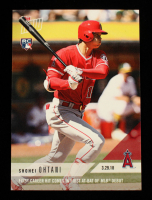 Shohei Ohtani 2018 Topps Now #5 at PristineAuction.com