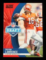 Trevor Lawrence 2021 Score NFL Draft #1 at PristineAuction.com