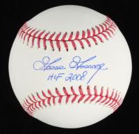 """Goose Gossage Signed OML Baseball Inscribed """"HOF 2008"""" (Beckett Hologram) at PristineAuction.com"""