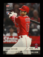 Shohei Ohtani 2018 Topps Now #136J Japanese at PristineAuction.com