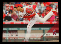 Shohei Ohtani 2018 Topps Now #234 at PristineAuction.com