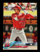 Shohei Ohtani 2018 Topps Update #US285 at PristineAuction.com