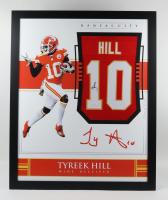 Tyreek Hill Signed 35x43 Custom Framed Jersey Display (JSA Hologram) (See Description) at PristineAuction.com