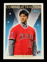 Shohei Ohtani 2018 Topps Archives Coming Attraction #CA1 at PristineAuction.com