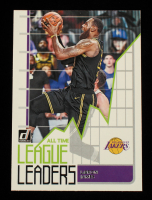 LeBron James 2020-21 Donruss All Time League Leaders #2 at PristineAuction.com