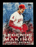 Shohei Ohtani 2018 Topps Update Legends in the Making Blue #LITM21 at PristineAuction.com