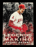 Shohei Ohtani 2018 Topps Update Legends in the Making Black #LITM21 at PristineAuction.com