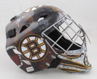 Jeremy Swayman Signed Bruins Full-Size Hockey Goalie Mask (Swayman COA) at PristineAuction.com