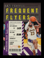 LeBron James 2020-21 Hoops Frequent Flyers #3 at PristineAuction.com