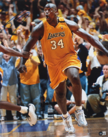 Shaquille O'Neal Signed Lakers 16x20 Photo (Beckett Hologram) (See Description) at PristineAuction.com